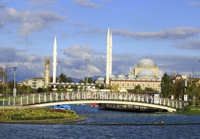 The Mirhapli Mosque in Bursa, Turkey