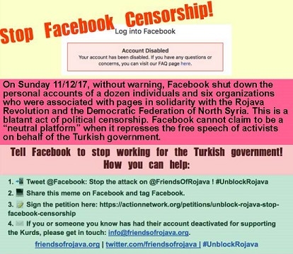 Cutting Cords to Kurds: Facebook's Foreign Policy